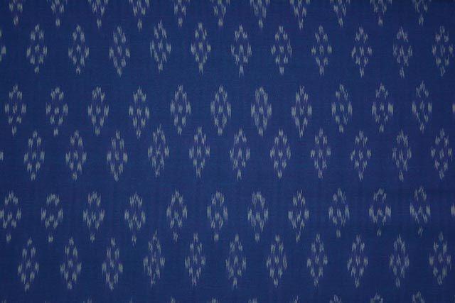 Double Tone Fine Ikat Fabric Online