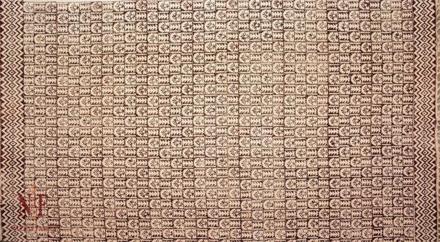 Reversible Block Print Cotton Dhurrie Runner