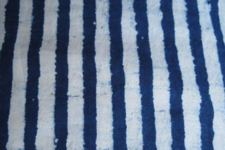 Four In One Indigo Print Fabric