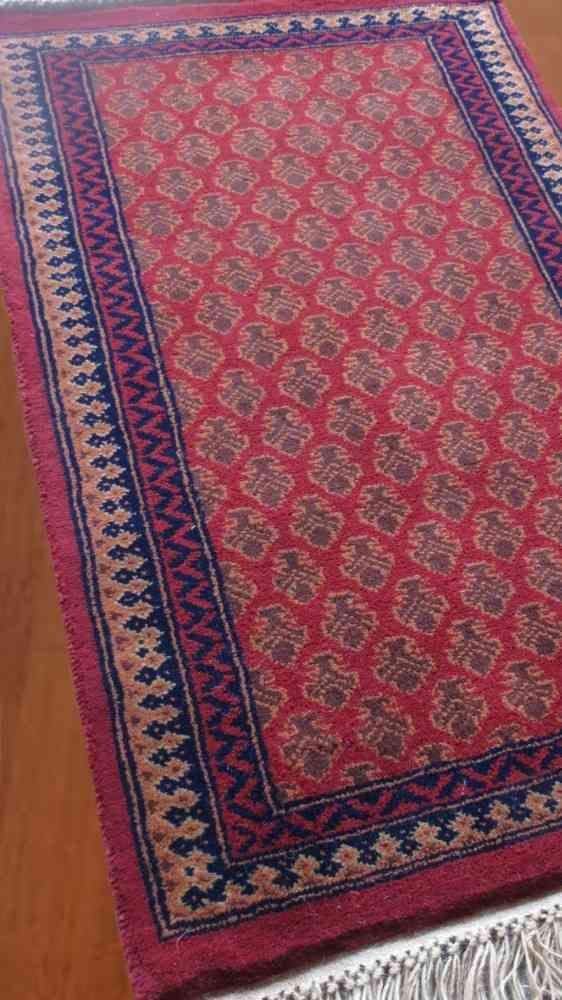 Rustic Maroon Hand Knotted Tribal Rugs