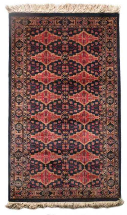 BEAUTY BLACK WOOL HANDMADE RUG FROM INDIA SUPPLIER