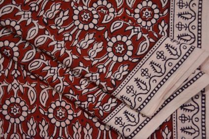 Floral Bagh Printed Cotton Fabric