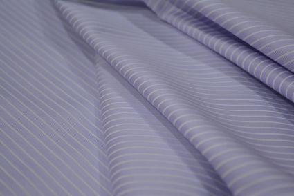 PASTEL LILAC PINK & WHITE GIZA COTTON  SHIRTS FABRICS -HF3690