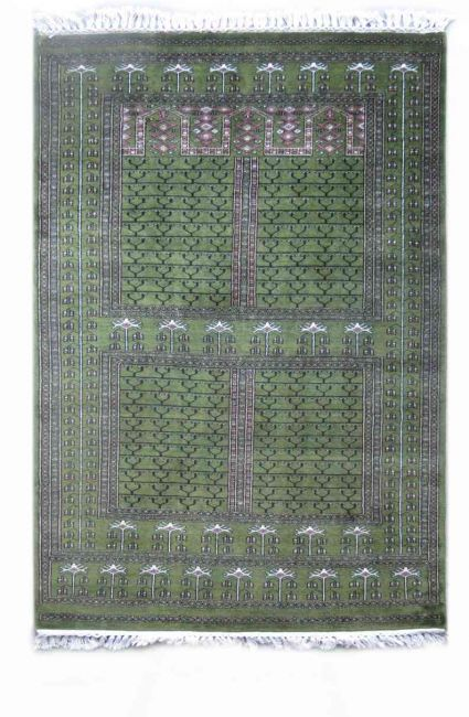 WINDS PALACE GREEN HANDMADE WOOL RUGS FROM INDIA